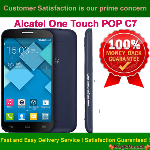 One Touch Alcatel Pop C7