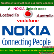 NOKIA BB5 & SL3 Network Unlock Code / Restriction Code For Vodafone
