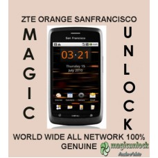 ZTE Orange San Francisco NP Unlock / Network Unlock Code