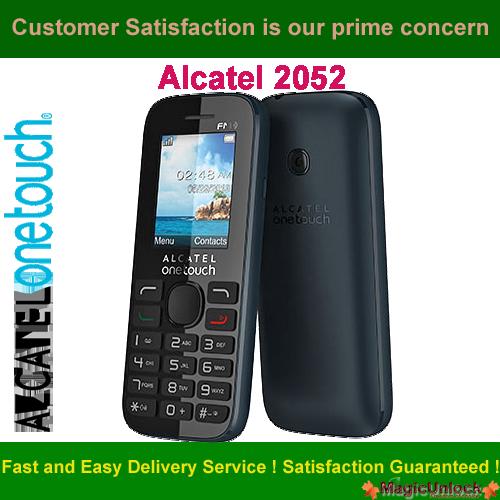 Alcatel OT-2052X Network Key / Unlock Code