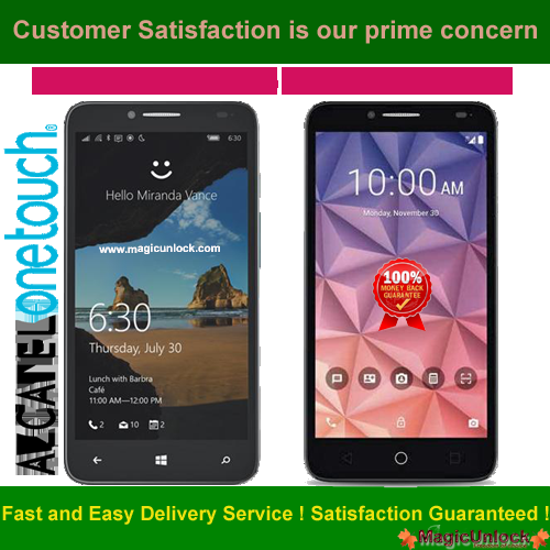 Alcatel OT-5054N Mobile Device Unlock By App - Android Official