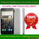 Alcatel One Touch Idol 6030x Enter SIM Me Lock / Unlock Code