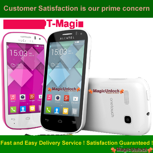 Alcatel One Touch Magic Enter SIM Me Lock / SIM network