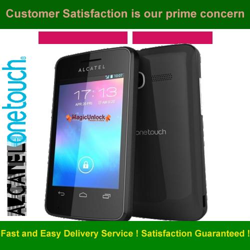 Alcatel One Touch Pixi Enter SIM Me Lock / SIM network