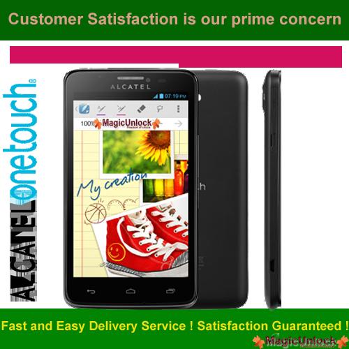 Alcatel One Touch Scribe Easy Enter SIM Me Lock / Unlock Code