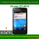Alcatel One Touch OT-4010 SIM ME LOCK / Enter Sim Me Code