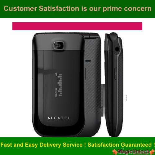 Alcatel One Touch OT-768T Network Key / Unlock Code