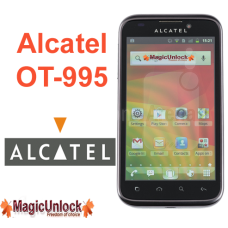 Alcatel One Touch OT-995 Sim Network Unlock Pin / Unlock Code