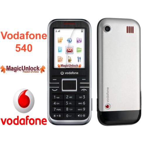 Vodafone 540 - mobile.softpedia.com