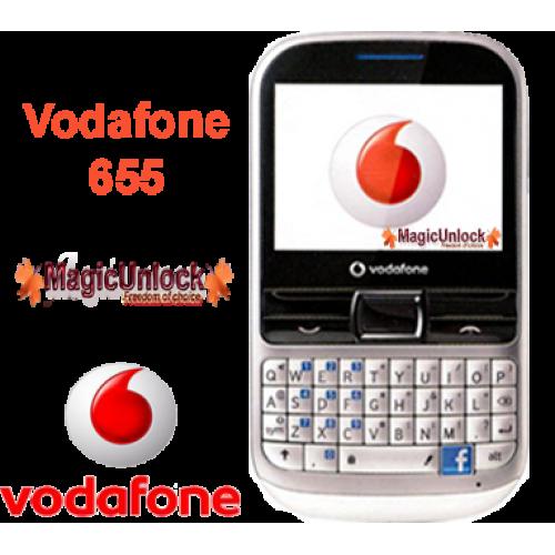 vodafone unlock phone code