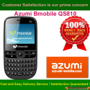 Azumi Bmobile QS810 Network Unlock Code / SIM network unlock pin