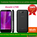 Azumi LT40 Network Unlock Code / SIM network unlock pin