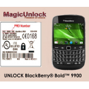 Blackberry Bold 9900 Unlock Code worldwide all network