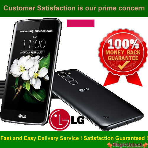 LG K7 Mobile Device Unlock By App - Android Official Unlock