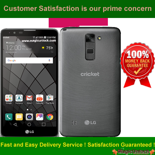 LG Stylo™ 2 Cricket K540 Network Unlock Code / SIM network