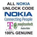 NOKIA BB5 & SL3 Network Unlock Code / Restriction Code For T-mobile uk