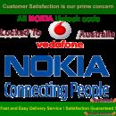 NOKIA BB5 & SL3 Network Unlock Code / Restriction Code For Vodafone Australia