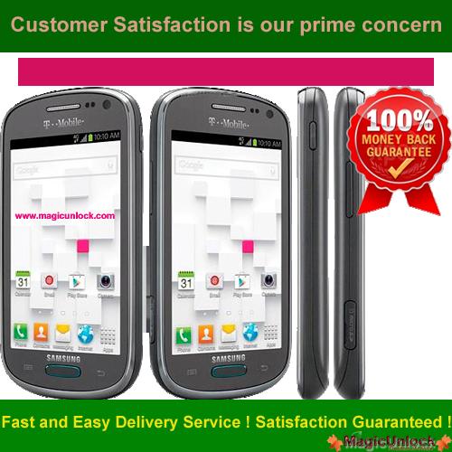 Samsung Galaxy Exhibit SGH-T599 Network Unlock Code / SIM