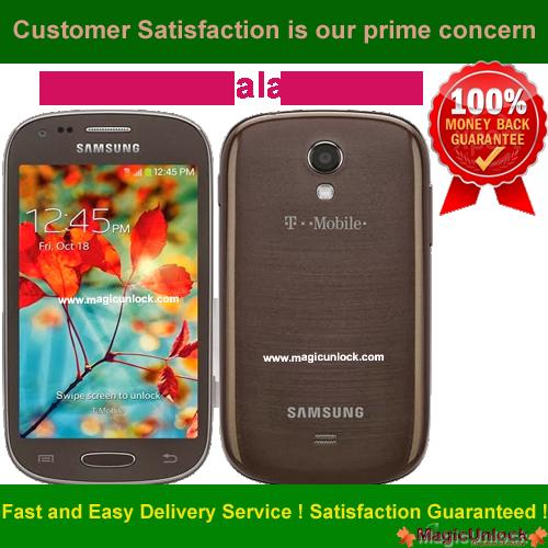 Samsung Galaxy Light SGH T399 Network Unlock Code / SIM Network Unlock Pin