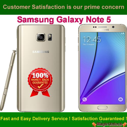 Samsung SM-N920A Network Unlock Code / SIM network unlock pin