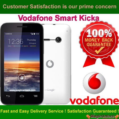 Vodafone Smart 4 fun Enter SIM Me Lock / SIM network unlock pin