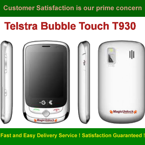 telstra bubble touch t930 np unlock network unlock code rh magicunlock com Glitter Touch Bubbles Bubble Guppies