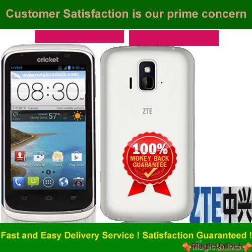 ZTE Sonata 4G™ Z740g SIM network unlock pin / Network Unlock Code