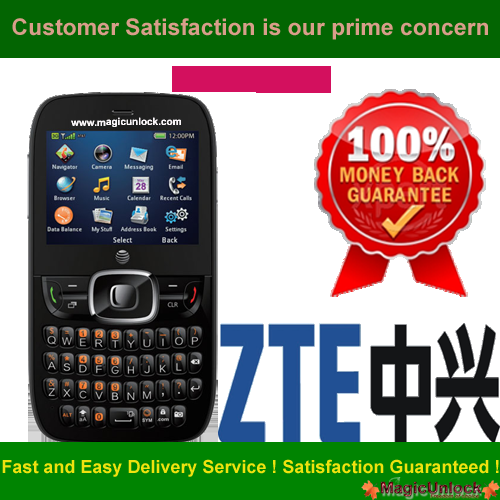 ZTE Z432 The Phone is Network Lock / Network Unlock Code