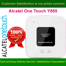 Alcatel One Touch Y855 Modem SIM Lock Required Code / NCK Code