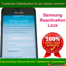 Samsung Reactivation Lock - ID Lock Removal Service (S Cloud Only) Cannot Remove Google Account