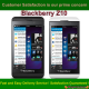 Blackberry Z10 Enter The Network Unlock Code / SIM Service provider unlock pin