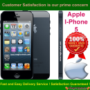 Apple iPhone 5 Permanent Unlocking Service by IMEI