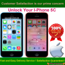Apple iPhone 5C Permanent Unlocking Service by IMEI