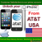iPhone 6+, 6, 5S, 5C, 5, 4S, 4, 3GS Permanent Unlocking service by imei from at&t USA network