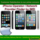 iPhone Operator / Network Provider Finder by IMEI