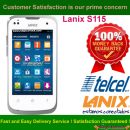 Lanix S115 Network Unlock Code / SIM network unlock pin