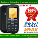 Lanix W32 Network Unlock Code / SIM network unlock pin