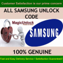 Samsung Europe Network Unlock Code & Unfreeze Code